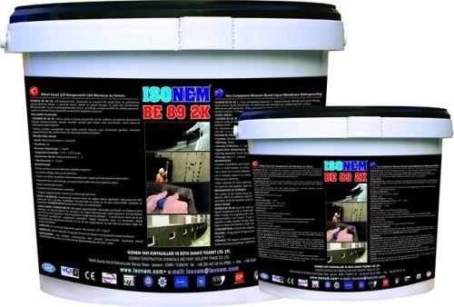 ISONEM BE 89 2K Асфальтовая двухкомпонентная жидко-диафрагмовая водоизоляция